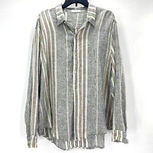 Anthro CP Shades Size Large 100% Linen Tunic Top